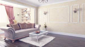 Preview wallpaper room, furniture, interior, design, stylish