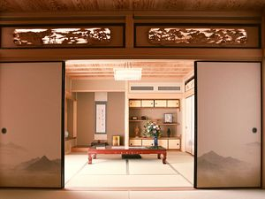 Preview wallpaper room, style, doors