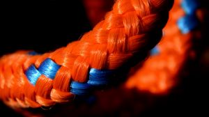 Preview wallpaper rope, close-up, weaving