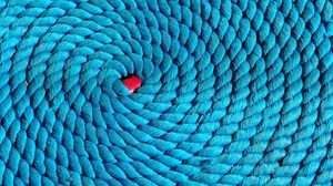 Preview wallpaper rope, spiral, braided, ball