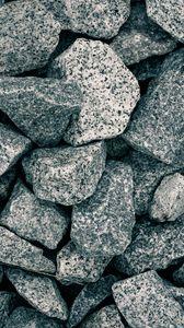 Preview wallpaper rubble, stones, gray, macro