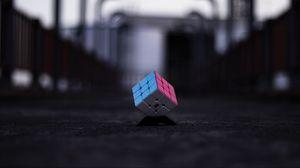 Preview wallpaper rubiks cube, cube, multi-colored