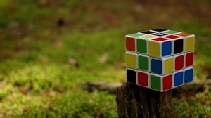 Preview wallpaper rubiks cube, cube, puzzle, colorful