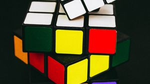 Preview wallpaper rubiks cube, cubes, colorful, conundrum