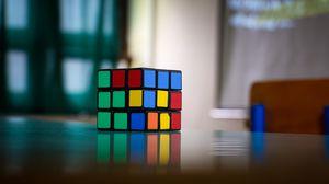 Preview wallpaper rubiks cube, puzzle, multi-colored