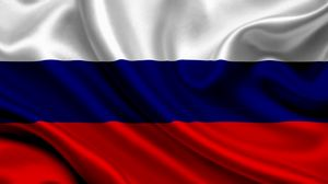 Preview wallpaper russia, satin, flag, symbol, band