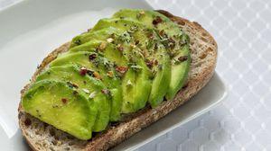 Preview wallpaper sandwich, avocado, fruit, green