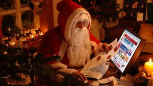 Preview wallpaper santa claus, new year, gifts