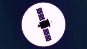 Preview wallpaper satellite, star, bright, space, art