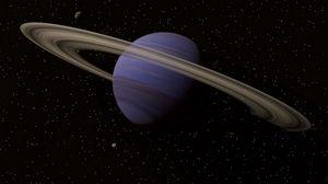 Preview wallpaper saturn, planet, space, rings, belt