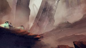 Preview wallpaper sci-fi, future, fiction, futuristic, art