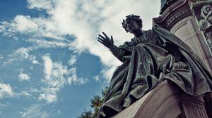 Preview wallpaper sculpture, statue, monument, scotland, edinburgh