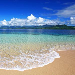 Preview wallpaper sea, beach, sand, foam, surf