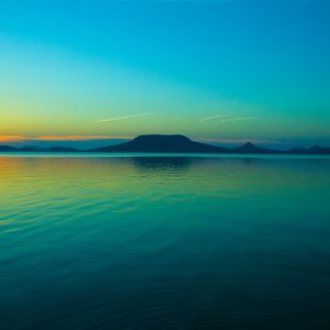 Preview wallpaper sea, horizon, sky, dawn