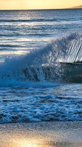 Preview wallpaper sea, water, wave, spray