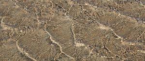 Preview wallpaper sea, water, waves, sand, macro