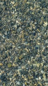 Preview wallpaper sea, water, waves, stones, texture