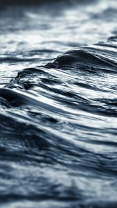 Preview wallpaper sea, water, waves, gray