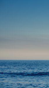 Preview wallpaper sea, water, waves, horizon, blue