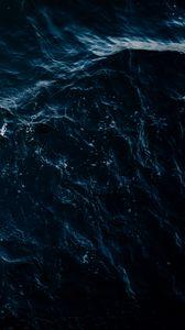 Preview wallpaper sea, waves, splashes, dark