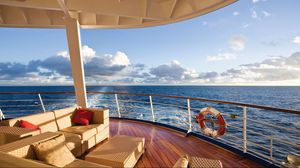 Preview wallpaper sea, yacht, luxury, scenery, view
