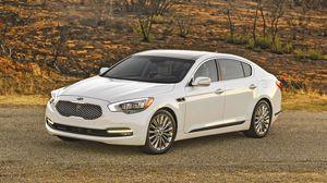 Preview wallpaper sedan, premium class, kia, 2015