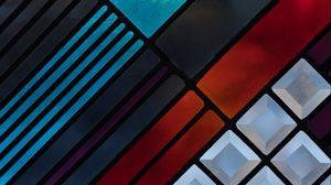 Preview wallpaper shape, colorful, texture, geometric, surface
