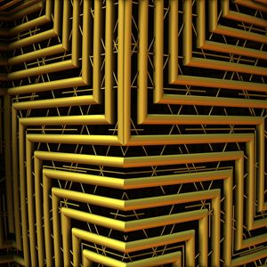 Preview wallpaper shape, pipes, lines, 3d