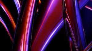 Preview wallpaper shape, shine, stripes, bright