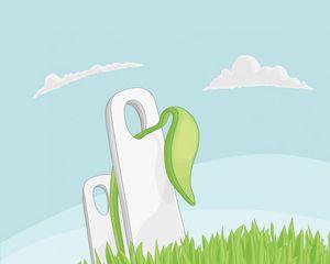 Preview wallpaper sheet, fence, grass, illustration
