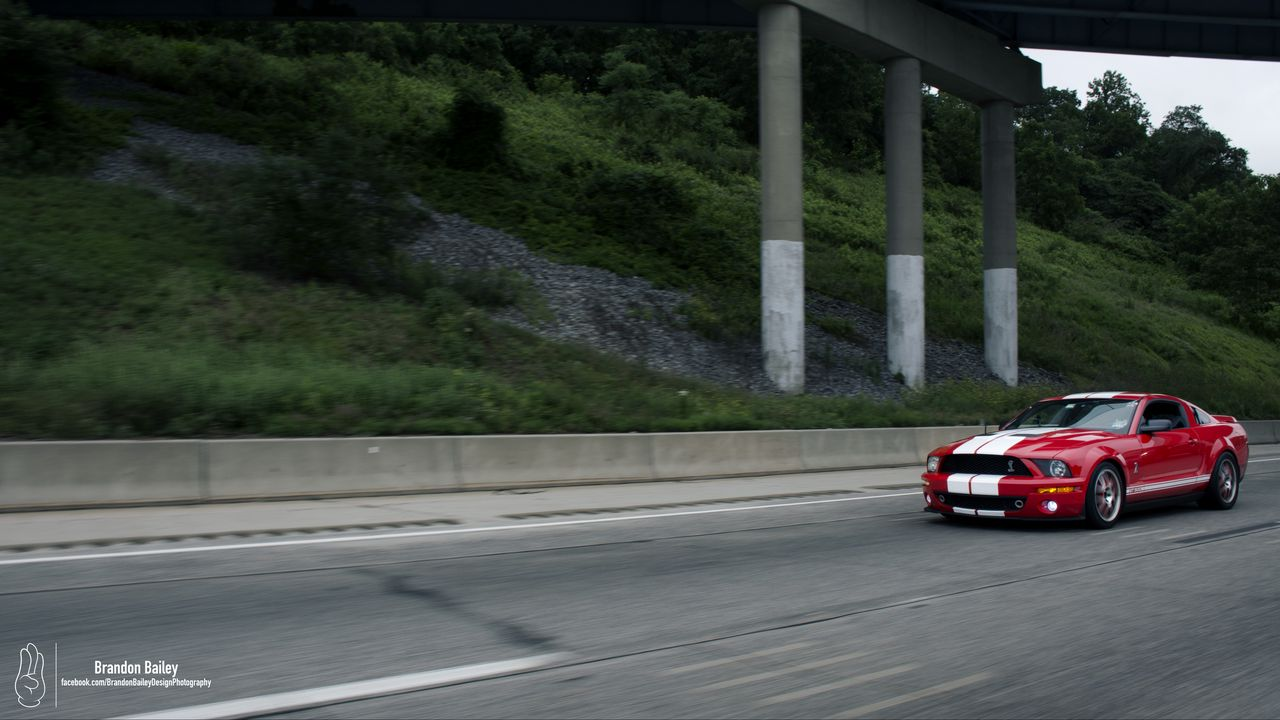 Wallpapershelbymustang,mustang,car,musclecar,red,road,speed高清壁纸免费下载
