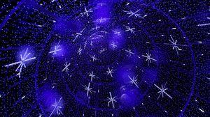 Preview wallpaper shine, sparkles, radiance, snowflakes