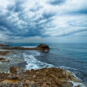 Preview wallpaper shore, sea, water, waves, landscape