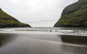 Preview wallpaper shore, sea, water, rocks, landscape