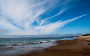 Preview wallpaper shore, sea, water, landscape