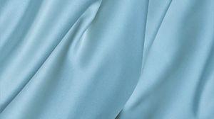 Preview wallpaper silk, fabric, folds, texture, blue