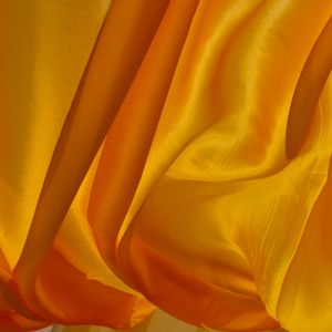 Preview wallpaper silk, fabric, folds, yellow