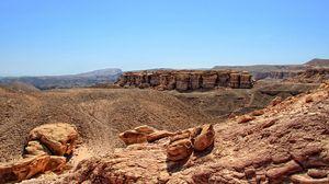Preview wallpaper sinai, egypt, mountains, desert, sand, stones, canyons