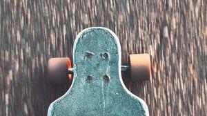 Preview wallpaper skate, leg, sneakers, speed