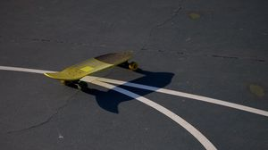 Preview wallpaper skate, playground, shadow