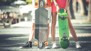 Preview wallpaper skate, skateboard, sport, hobby, longboard, board