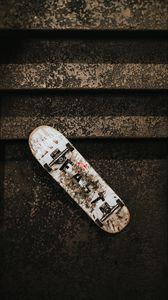 Preview wallpaper skateboard, ladder, wheels, dirty