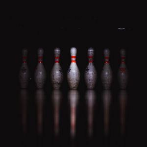 Preview wallpaper skittles, bowling, game, dark