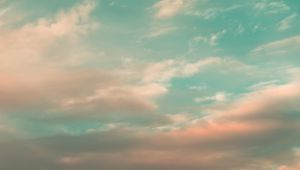 Preview wallpaper sky, clouds, atmosphere, horizon