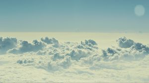 Preview wallpaper sky, clouds, light, summer
