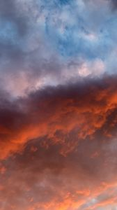 Preview wallpaper sky, clouds, sunlight, sunset, environment, atmosphere