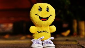 Preview wallpaper smile, happiness, toy