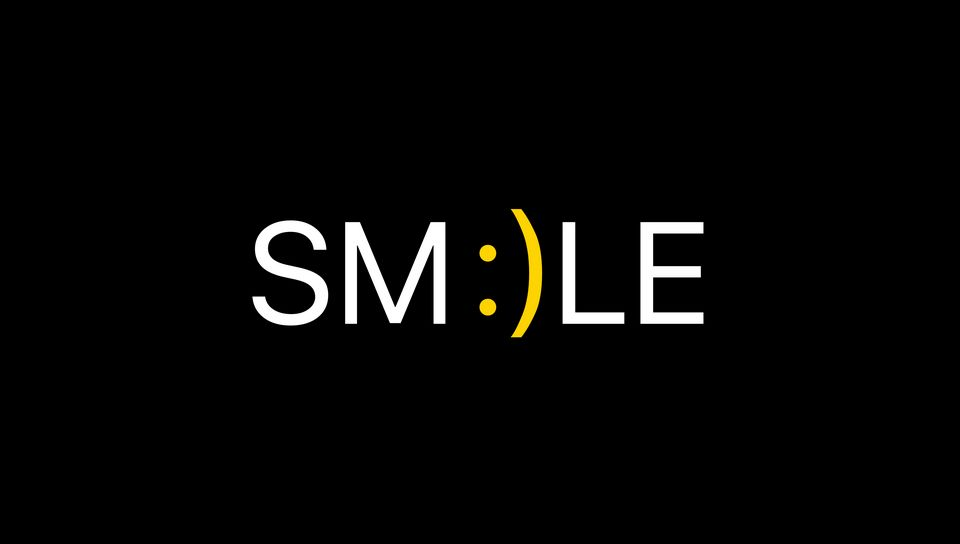 960x544 Wallpaper smile, positive, word, cheerful