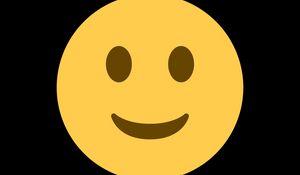 Preview wallpaper smile, smiley, yellow, art, vector
