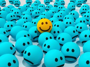 Preview wallpaper smiles, joy, sadness